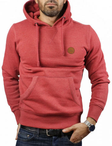 Sweat-shirt capuche classic Rouge